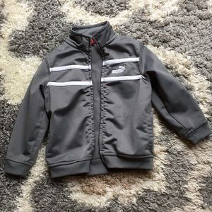 Boys Puma zip up